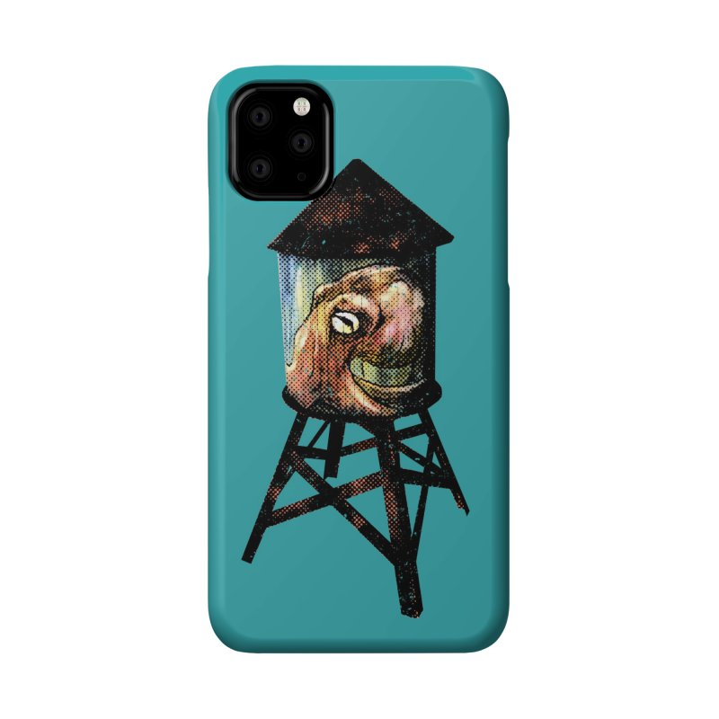 Octopus Water Tower Accessories Phone Case by Zerostreet's Artist Shop