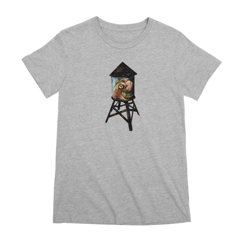 Octopus Water Tower Women's Premium T-Shirt by Zerostreet's Artist Shop