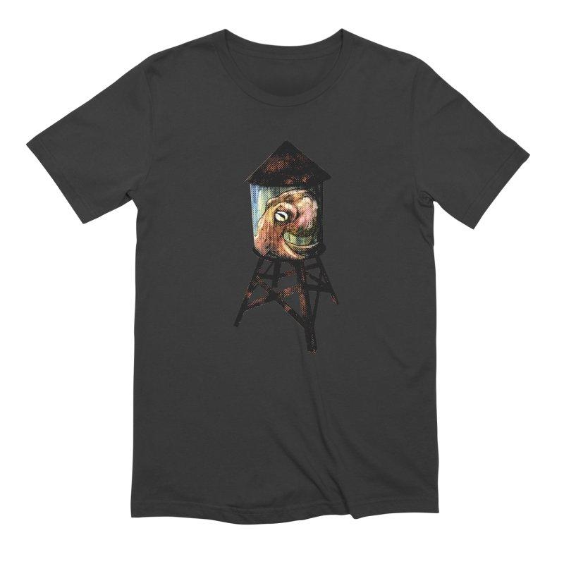 Octopus Water Tower Men's Extra Soft T-Shirt by Zero Street's Artist Shop