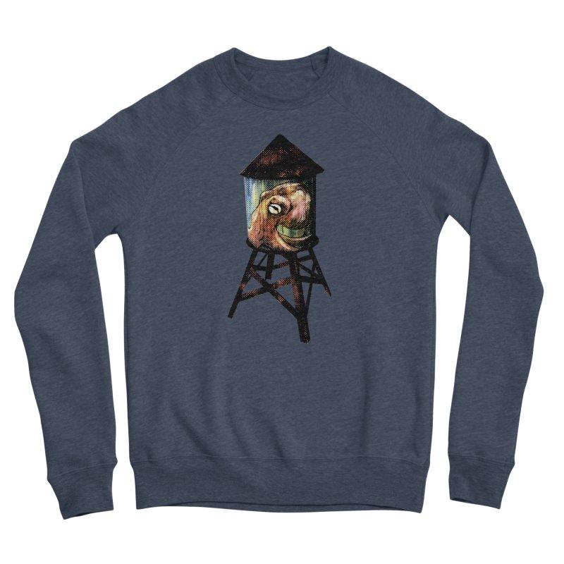 Octopus Water Tower Men's Sponge Fleece Sweatshirt by Zero Street's Artist Shop