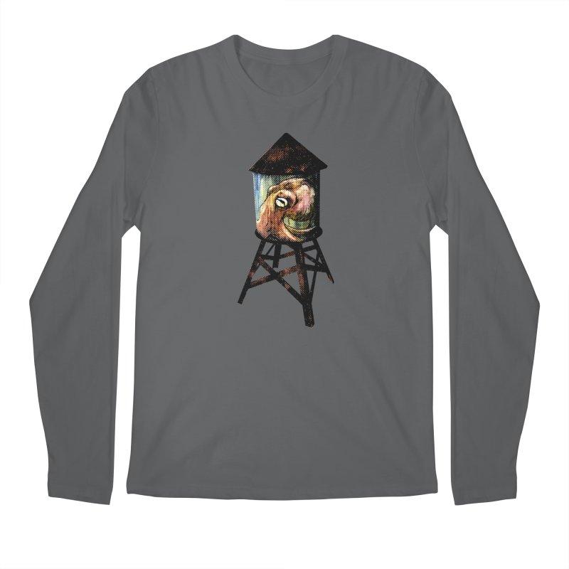 Octopus Water Tower Men's Regular Longsleeve T-Shirt by Zero Street's Artist Shop