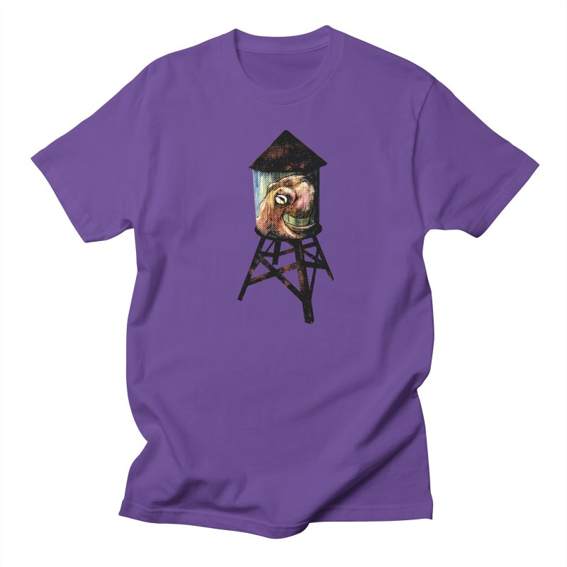 Octopus Water Tower Women's Regular Unisex T-Shirt by Zero Street's Artist Shop