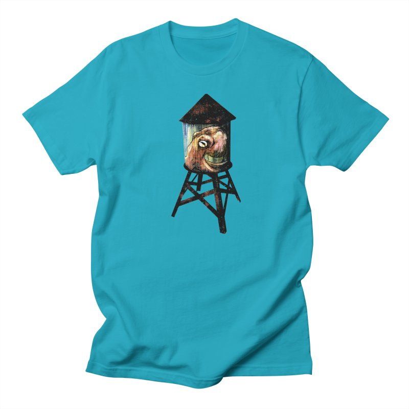 Octopus Water Tower Men's Regular T-Shirt by Zerostreet's Artist Shop