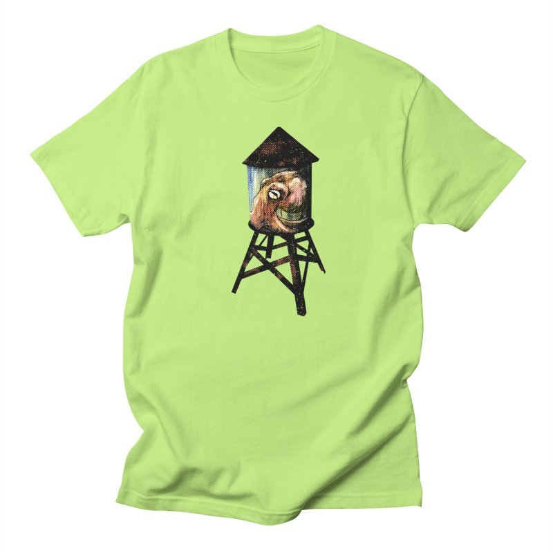 Octopus Water Tower Men's Regular T-Shirt by Zerostreet's Artist Shop