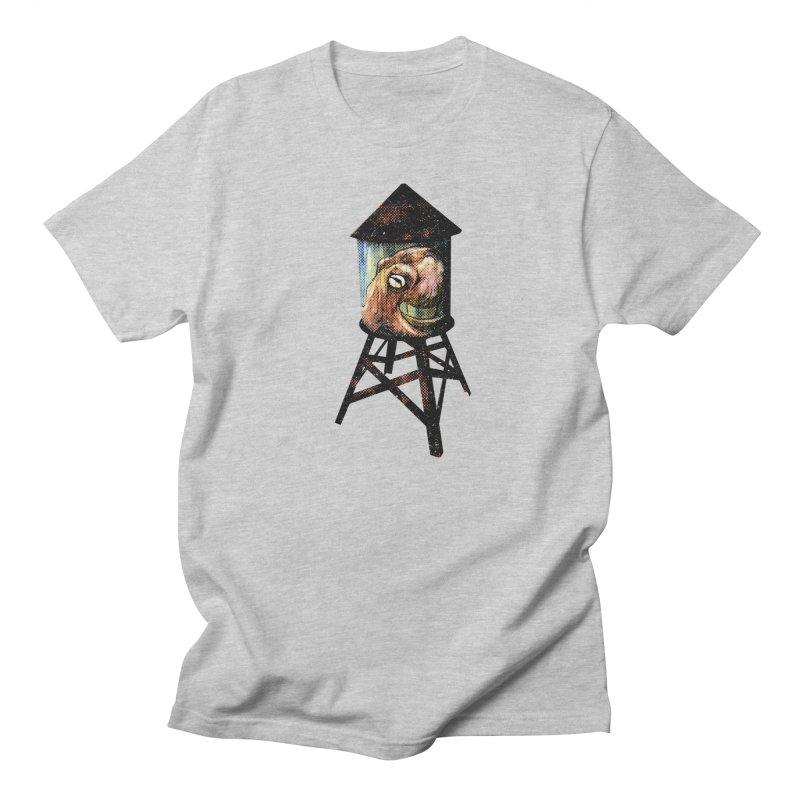 Octopus Water Tower Women's Regular Unisex T-Shirt by Zerostreet's Artist Shop