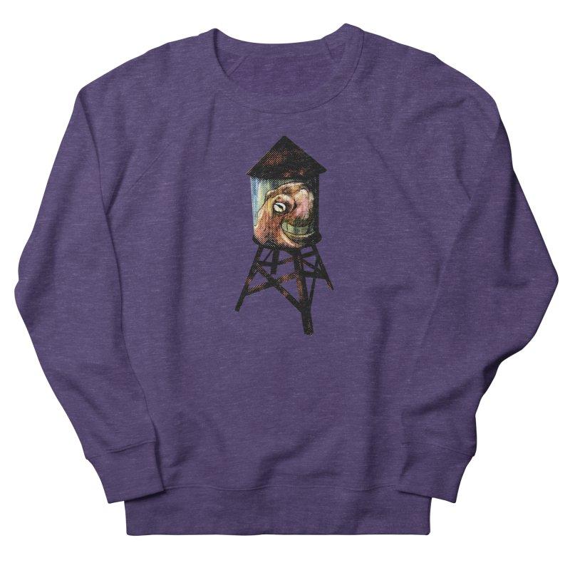 Octopus Water Tower Women's French Terry Sweatshirt by Zero Street's Artist Shop