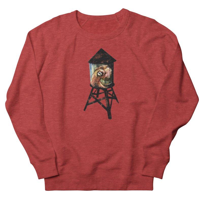 Octopus Water Tower Women's French Terry Sweatshirt by Zerostreet's Artist Shop