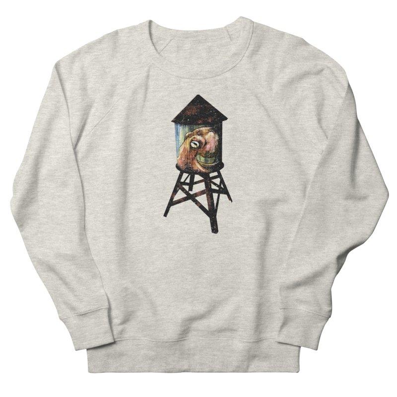 Octopus Water Tower Men's French Terry Sweatshirt by Zerostreet's Artist Shop