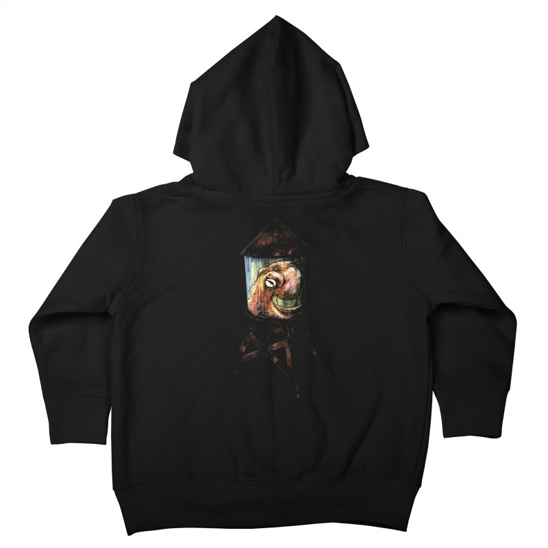 Octopus Water Tower Kids Toddler Zip-Up Hoody by Zerostreet's Artist Shop