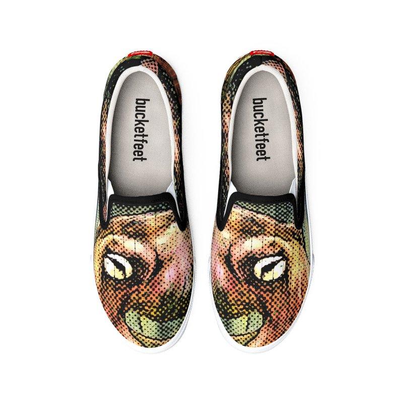 Octopus Water Tower Men's Shoes by Zerostreet's Artist Shop