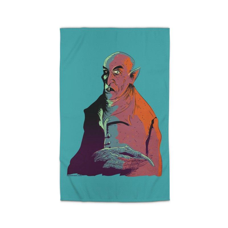 Nosferatu At Rest Home Rug by Zerostreet's Artist Shop