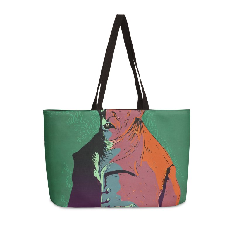 Nosferatu At Rest Accessories Weekender Bag Bag by Zero Street's Artist Shop