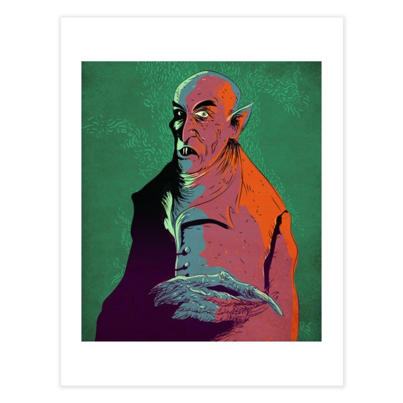 Nosferatu At Rest Home Fine Art Print by Zerostreet's Artist Shop