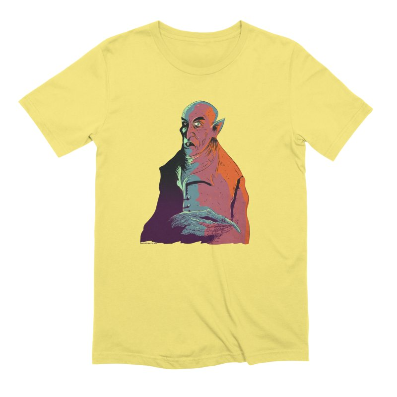Nosferatu At Rest Men's Extra Soft T-Shirt by Zerostreet's Artist Shop