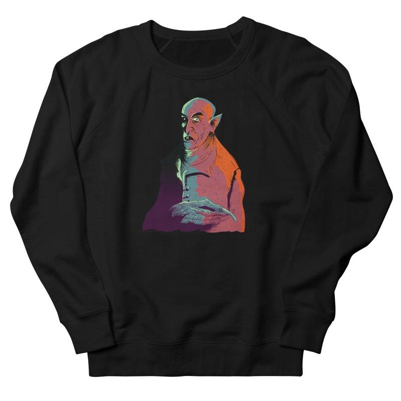 Nosferatu At Rest Women's French Terry Sweatshirt by Zerostreet's Artist Shop