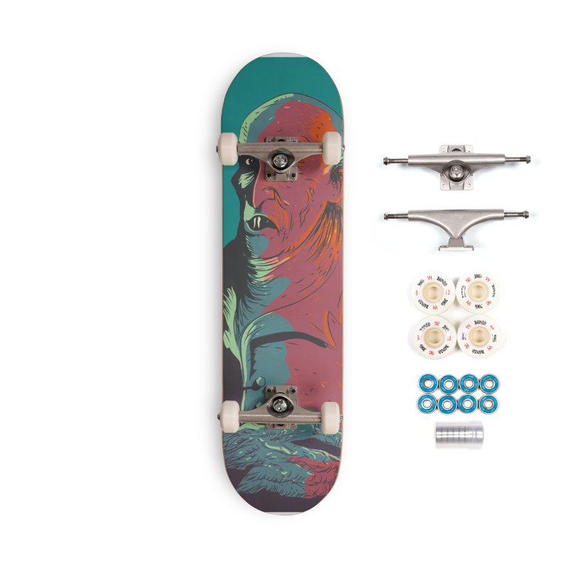 Nosferatu At Rest Accessories Complete - Premium Skateboard by Zerostreet's Artist Shop