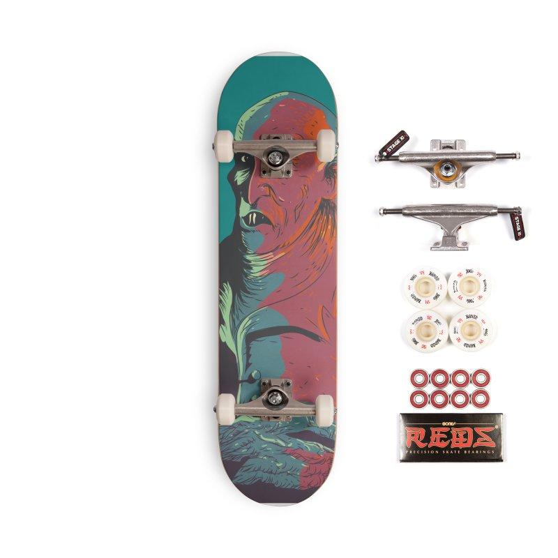 Nosferatu At Rest Accessories Complete - Pro Skateboard by Zerostreet's Artist Shop
