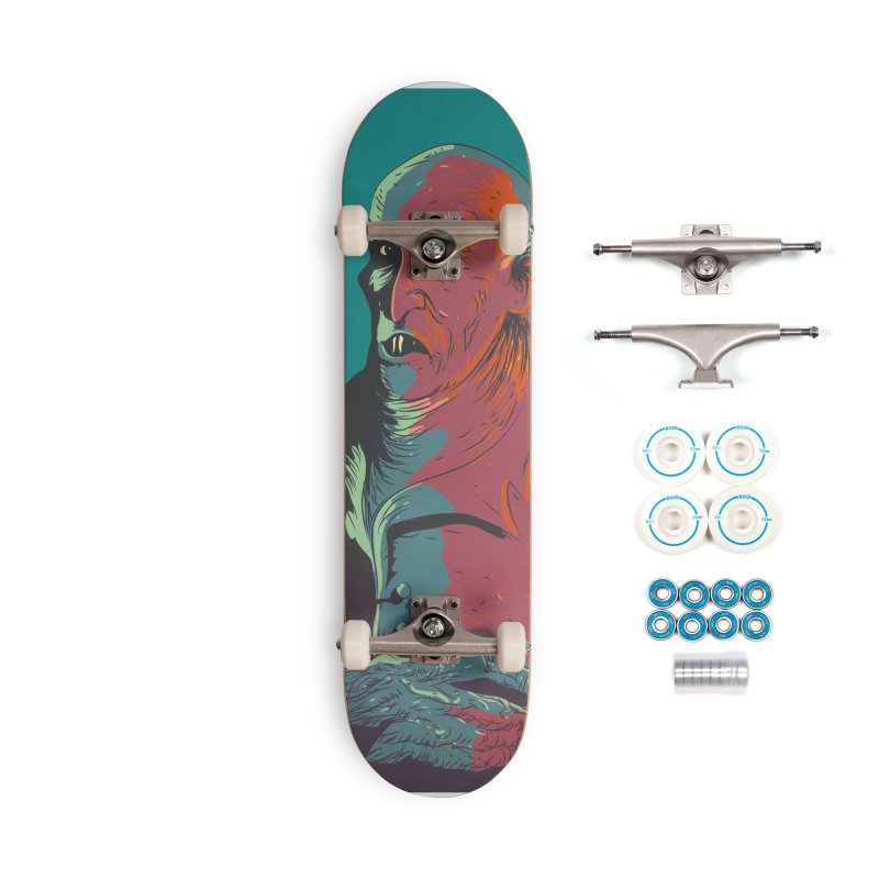 Nosferatu At Rest Accessories Complete - Basic Skateboard by Zerostreet's Artist Shop