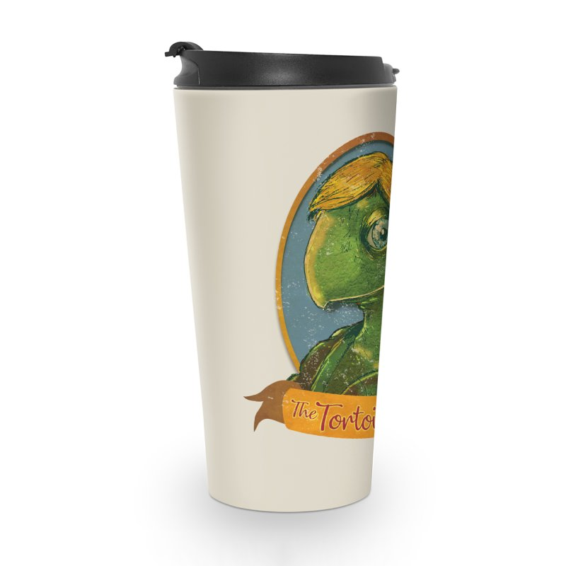 The Tortoise And The Hair Accessories Travel Mug by Zero Street's Artist Shop