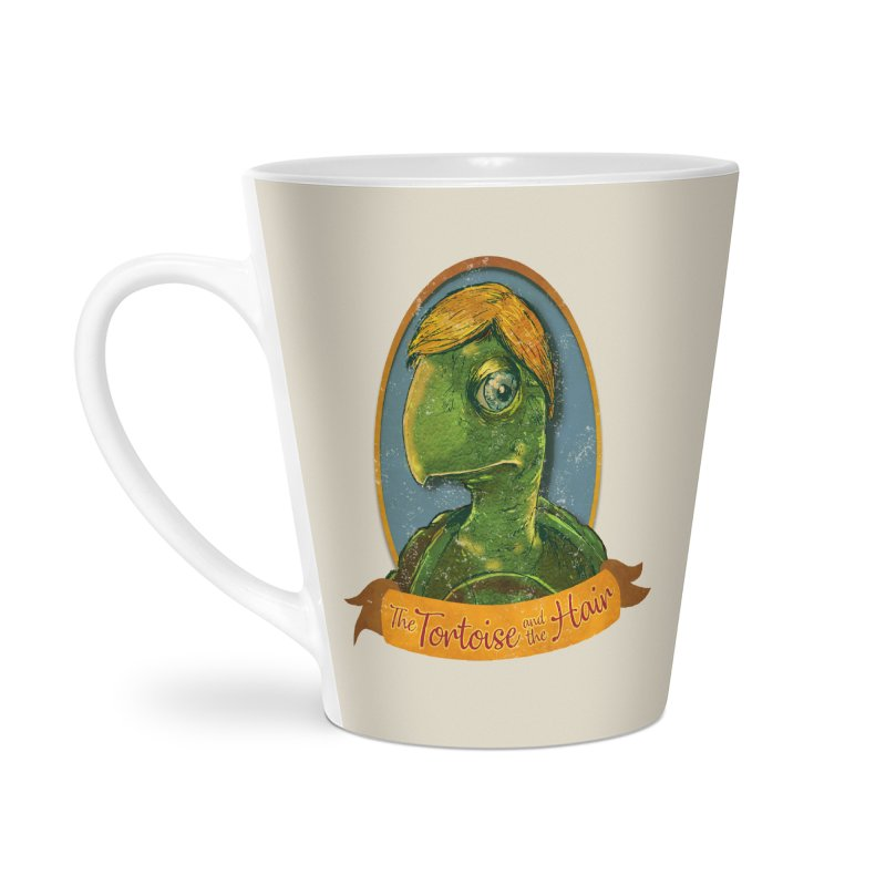 The Tortoise And The Hair Accessories Latte Mug by Zerostreet's Artist Shop