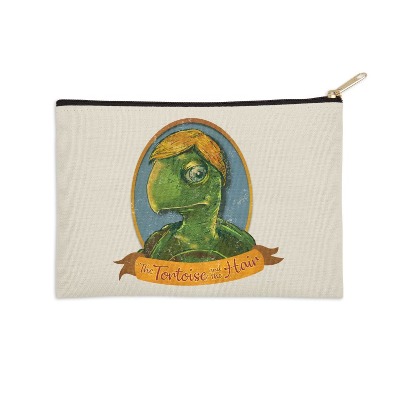 The Tortoise And The Hair Accessories Zip Pouch by Zerostreet's Artist Shop