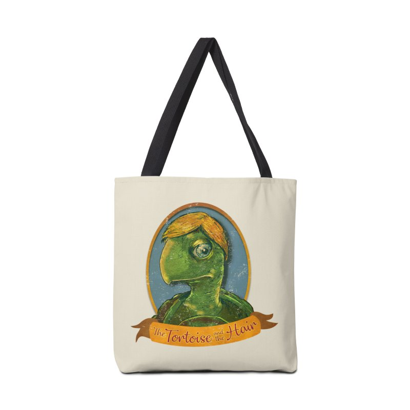 The Tortoise And The Hair Accessories Tote Bag Bag by Zerostreet's Artist Shop