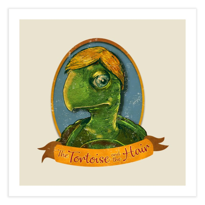 The Tortoise And The Hair Home Fine Art Print by Zerostreet's Artist Shop
