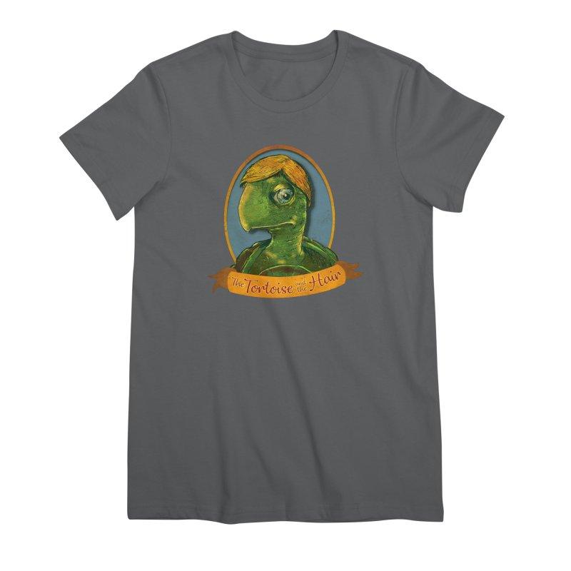 The Tortoise And The Hair Women's Premium T-Shirt by Zerostreet's Artist Shop