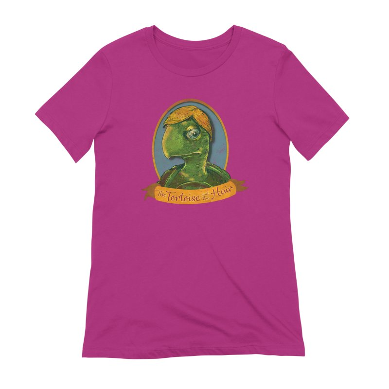 The Tortoise And The Hair Women's Extra Soft T-Shirt by Zerostreet's Artist Shop
