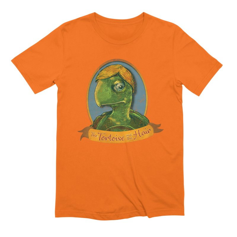 The Tortoise And The Hair Men's Extra Soft T-Shirt by Zero Street's Artist Shop