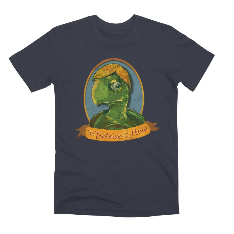 The Tortoise And The Hair Men's Premium T-Shirt by Zerostreet's Artist Shop