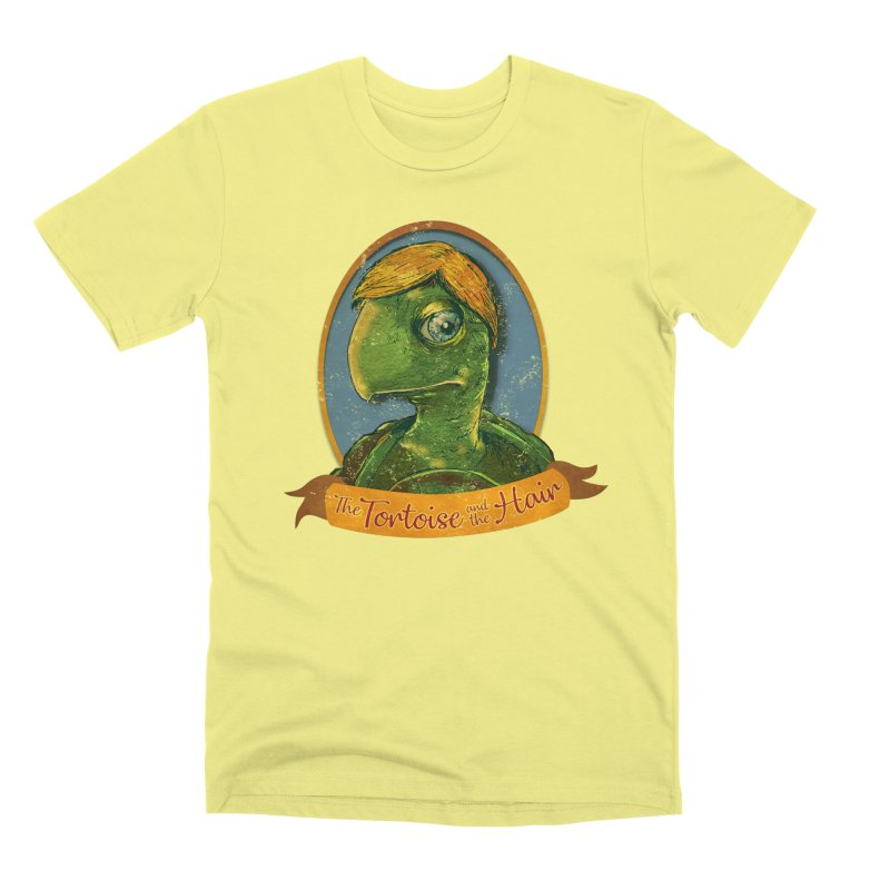 The Tortoise And The Hair Men's Premium T-Shirt by Zero Street's Artist Shop
