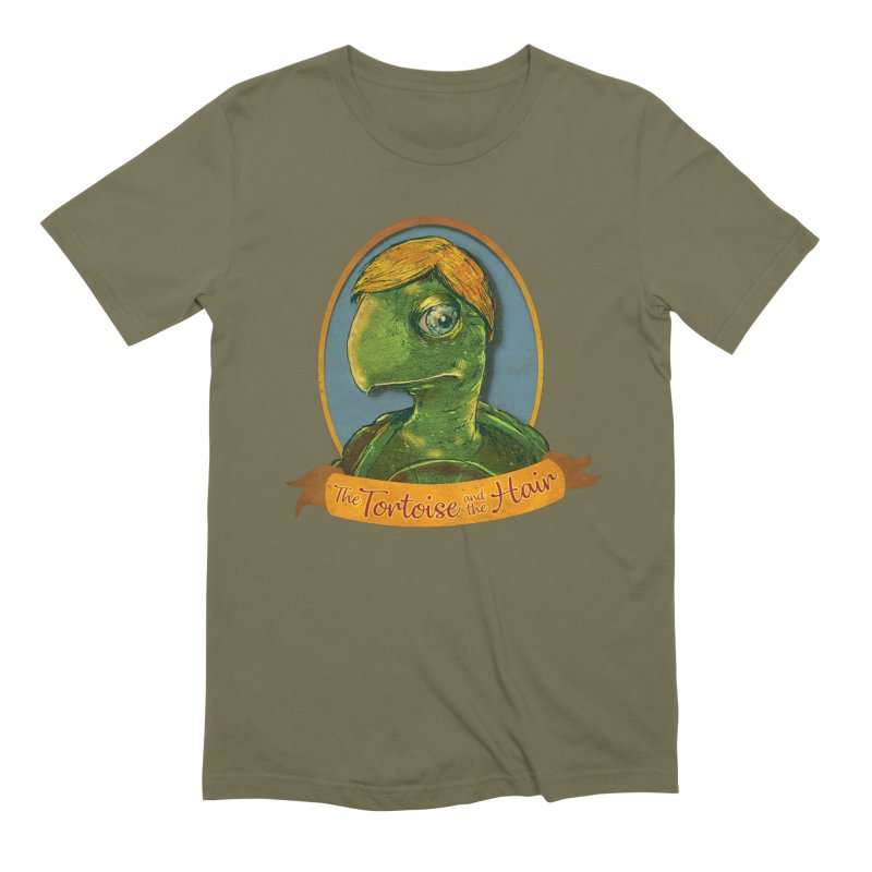 The Tortoise And The Hair Men's Extra Soft T-Shirt by Zerostreet's Artist Shop
