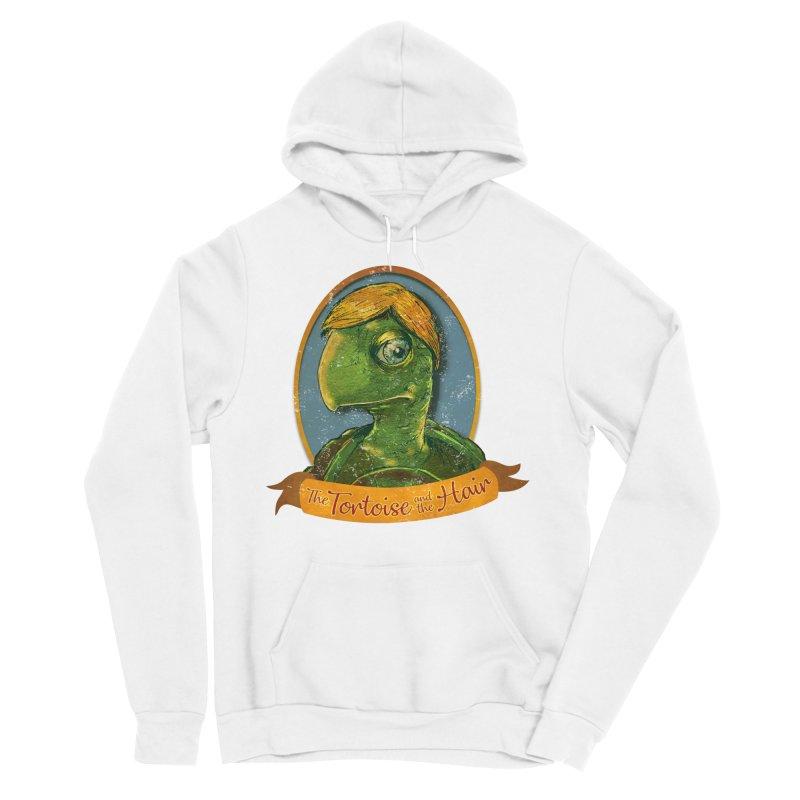 The Tortoise And The Hair Men's Sponge Fleece Pullover Hoody by Zerostreet's Artist Shop
