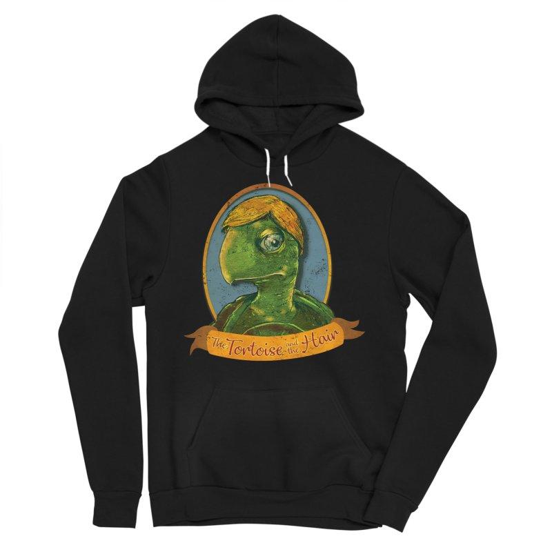 The Tortoise And The Hair Women's Sponge Fleece Pullover Hoody by Zerostreet's Artist Shop