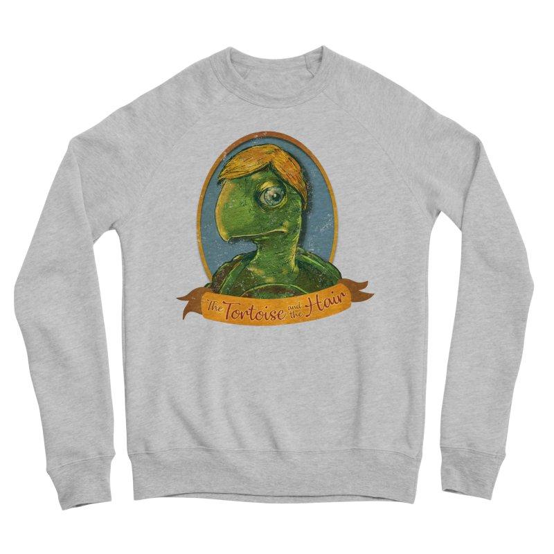 The Tortoise And The Hair Men's Sponge Fleece Sweatshirt by Zerostreet's Artist Shop