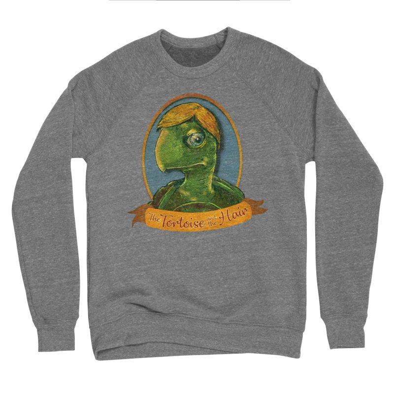 The Tortoise And The Hair Men's Sponge Fleece Sweatshirt by Zero Street's Artist Shop
