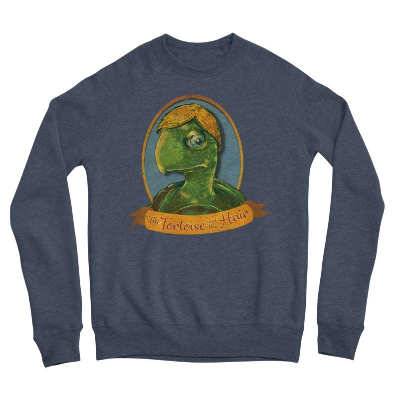 The Tortoise And The Hair Women's Sponge Fleece Sweatshirt by Zerostreet's Artist Shop