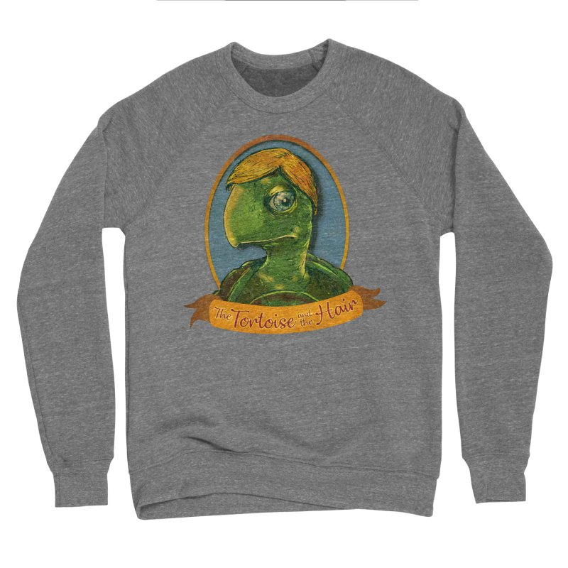The Tortoise And The Hair Women's Sponge Fleece Sweatshirt by Zerostreet's Artist Shop