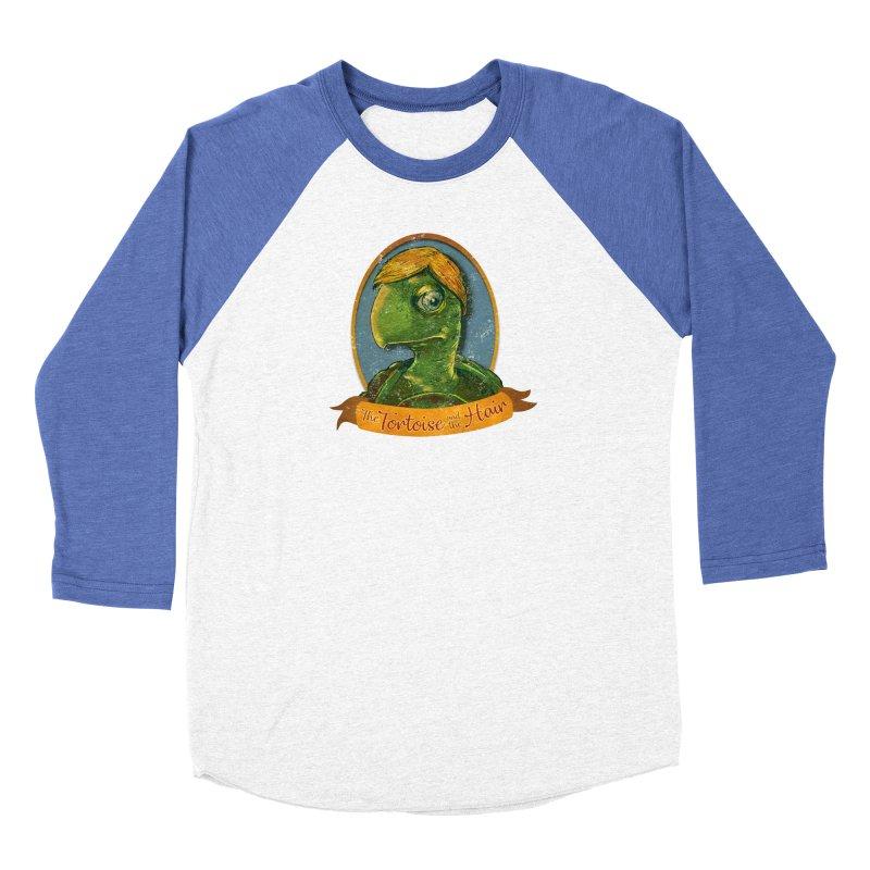 The Tortoise And The Hair Women's Baseball Triblend Longsleeve T-Shirt by Zerostreet's Artist Shop