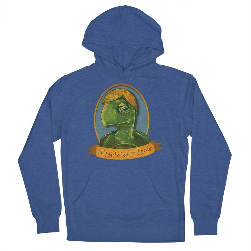 The Tortoise And The Hair Men's French Terry Pullover Hoody by Zero Street's Artist Shop