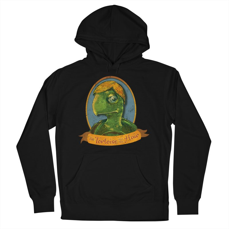 The Tortoise And The Hair Men's French Terry Pullover Hoody by Zerostreet's Artist Shop