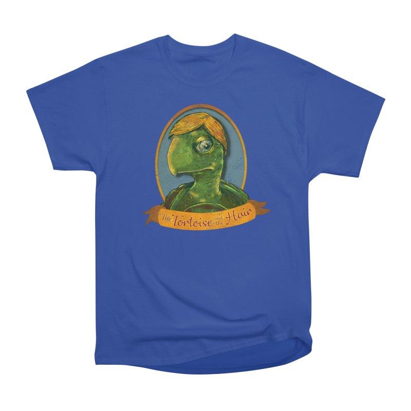 The Tortoise And The Hair Women's Heavyweight Unisex T-Shirt by Zerostreet's Artist Shop