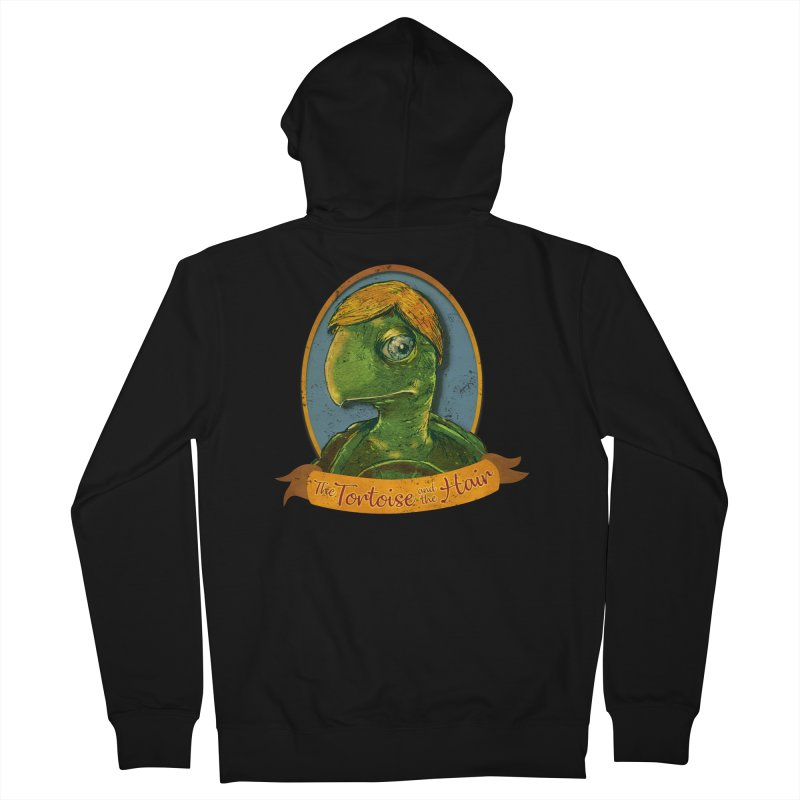 The Tortoise And The Hair Women's French Terry Zip-Up Hoody by Zero Street's Artist Shop