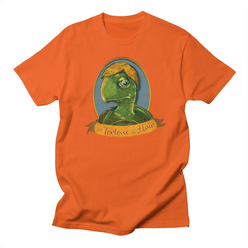 The Tortoise And The Hair Men's Regular T-Shirt by Zero Street's Artist Shop