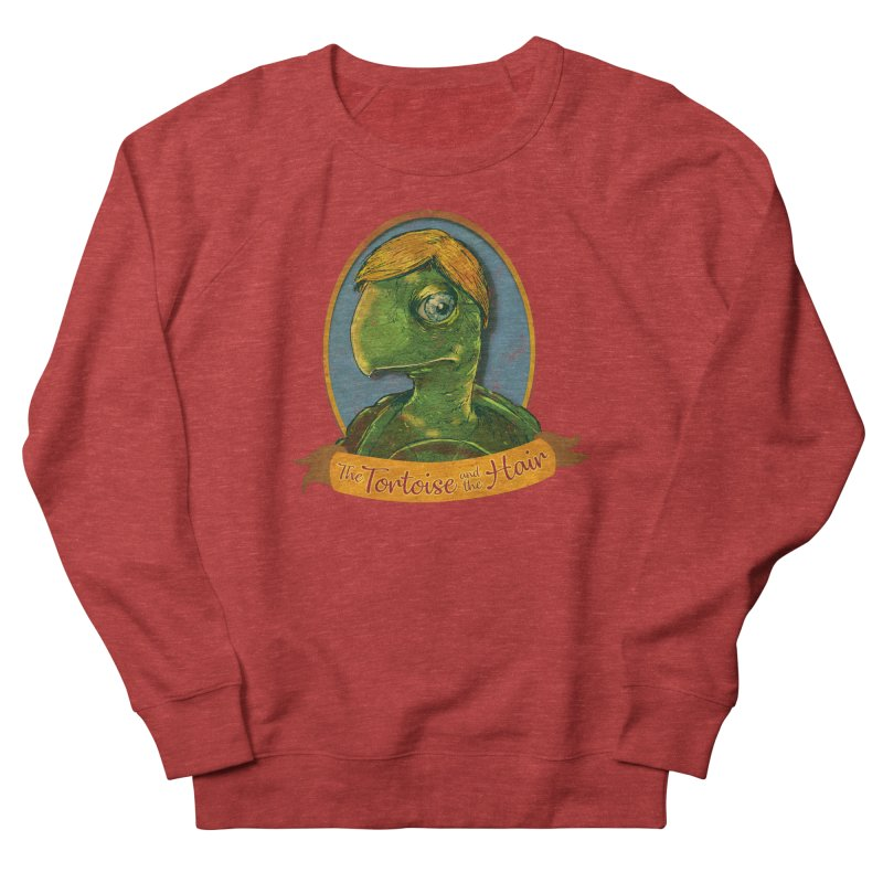 The Tortoise And The Hair Women's French Terry Sweatshirt by Zerostreet's Artist Shop