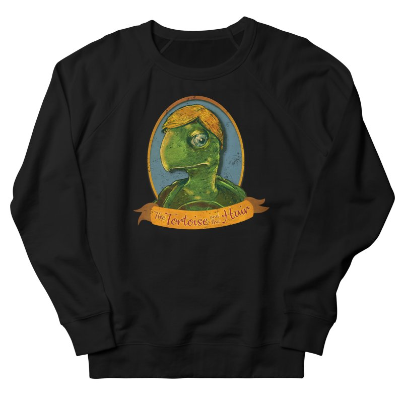 The Tortoise And The Hair Women's French Terry Sweatshirt by Zero Street's Artist Shop