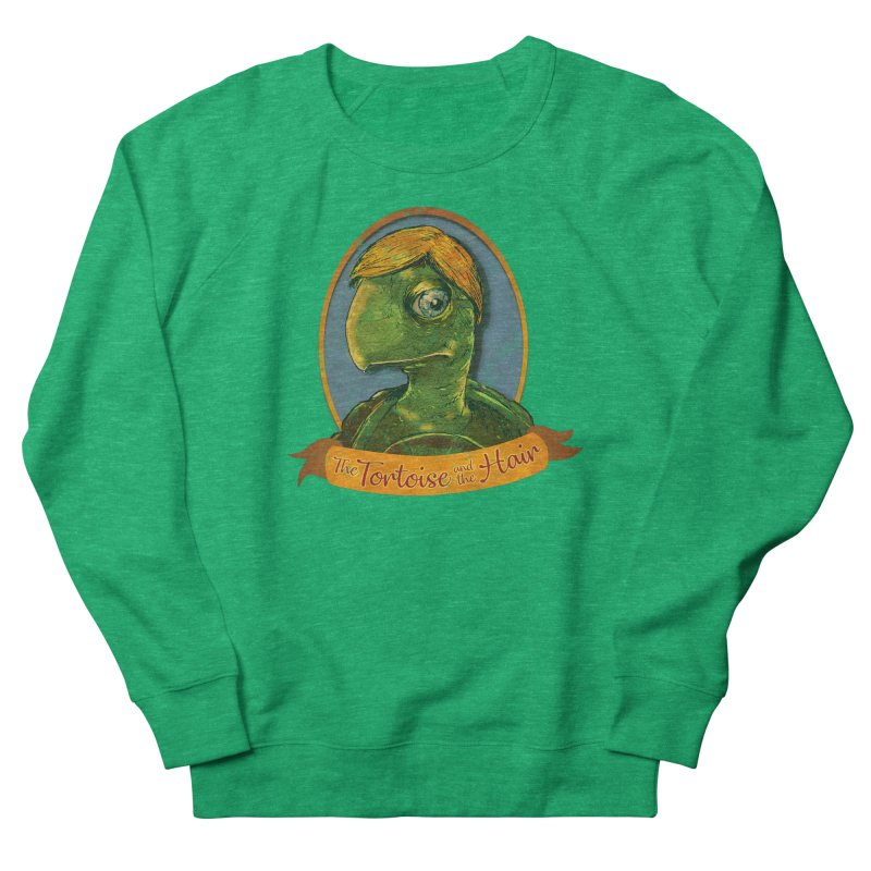 The Tortoise And The Hair Men's French Terry Sweatshirt by Zero Street's Artist Shop