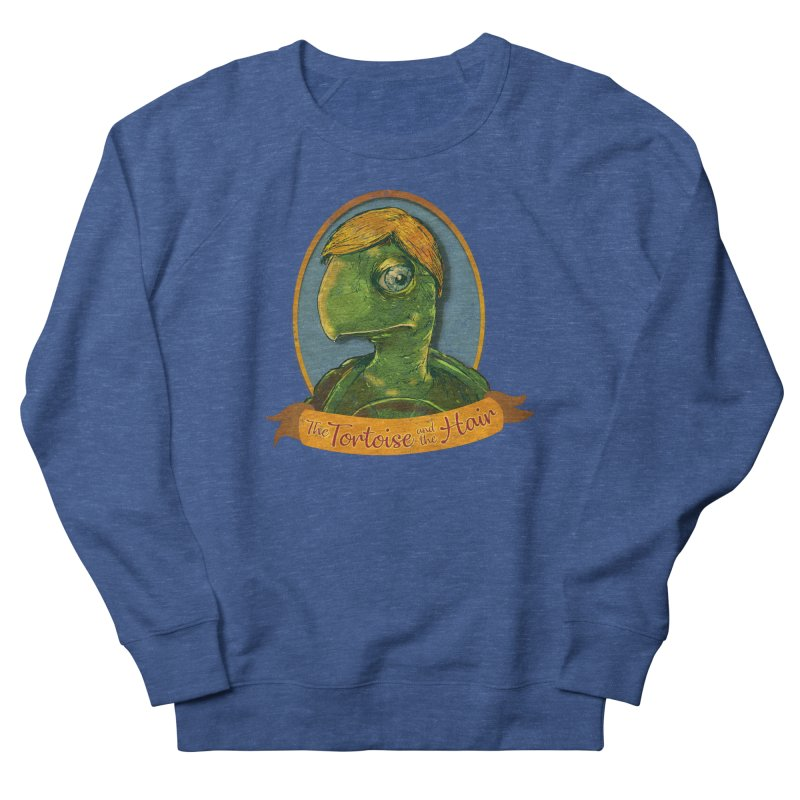 The Tortoise And The Hair Men's French Terry Sweatshirt by Zerostreet's Artist Shop
