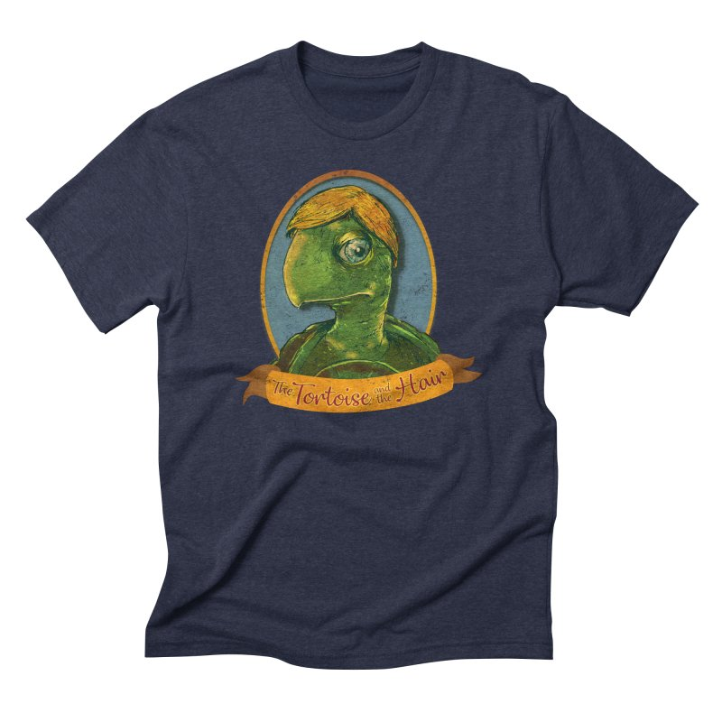 The Tortoise And The Hair Men's Triblend T-Shirt by Zerostreet's Artist Shop